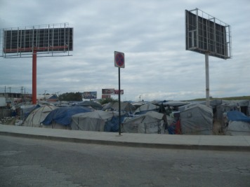 Tent City in Port-au-Prince