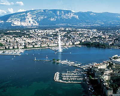Geneva and the pre-Alps
