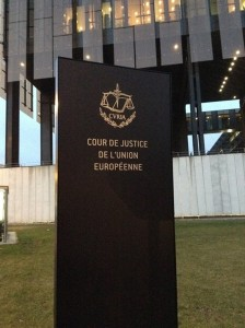 European Court of Justice 1