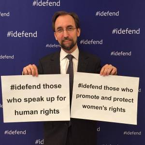 High Commissioner for Human Rights iDefend