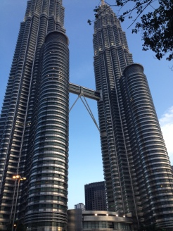 The famous Petronas Towers, 1998's tallest building
